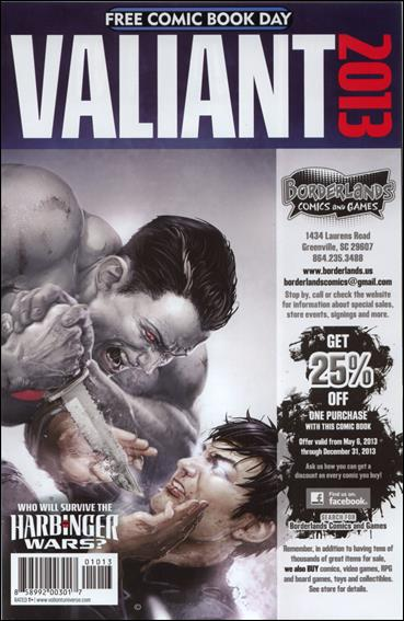 Valiant Comics FCBD 2013 Special 1-B by Valiant Entertainment