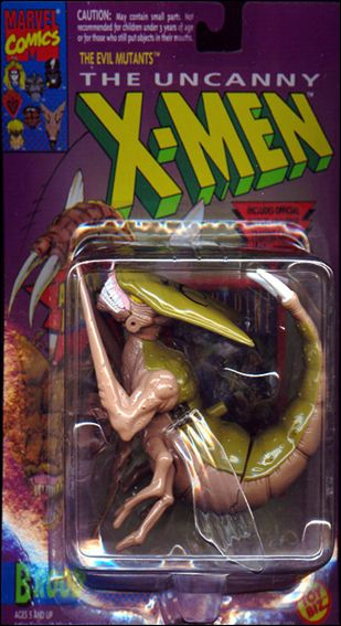 "X-Men 5"" Action Figures Brood by Toy Biz"