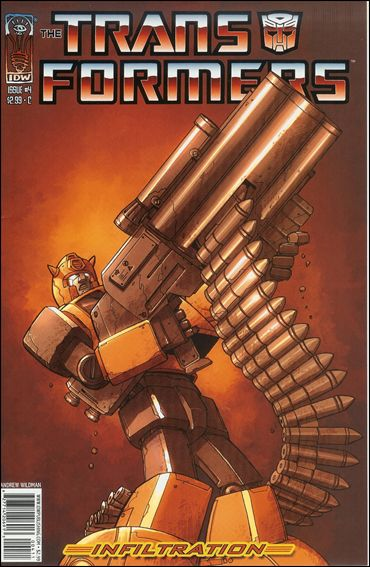 Transformers: Infiltration 4-C by IDW