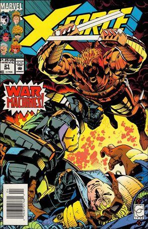 X-Force (1991) 21-A