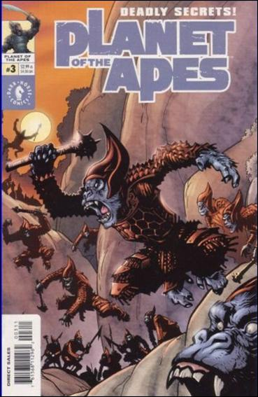 Planet of the Apes (2001/09) 3-A by Dark Horse
