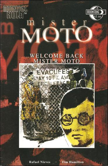 Moonstone Noir: Mister Moto—Welcome Back Mister Moto 1-A by Moonstone