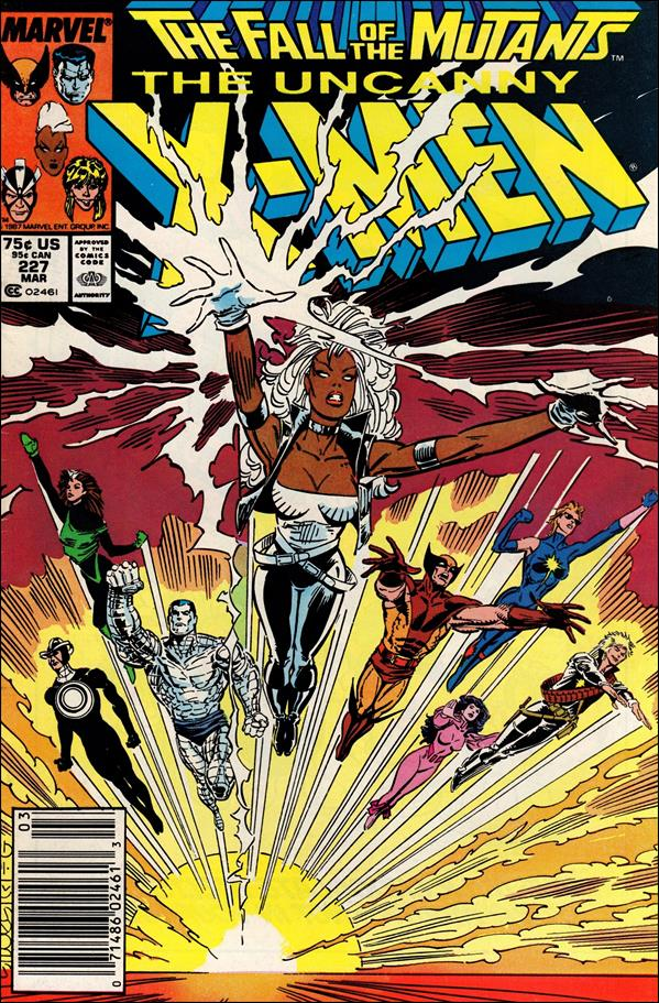 Uncanny X-Men (1981) 227-A by Marvel