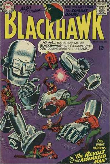 Blackhawk (1944) 220-A by DC