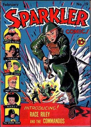 Sparkler Comics (1941) 19-A by United Features Syndicate