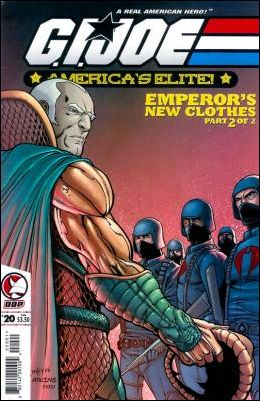 G.I. Joe: America's Elite 20-A by Devil's Due