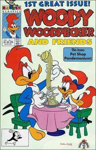 Woody Woodpecker and Friends 1-A by Harvey