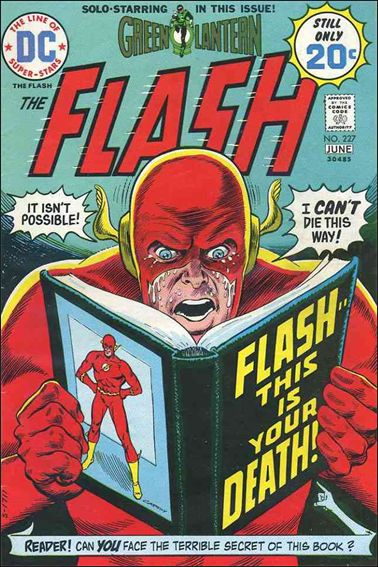 Flash (1959) 227-A by DC