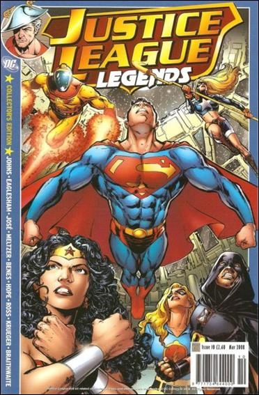Justice League Legends (UK) 10-A by Titan Magazines