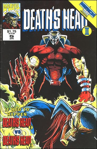 Death's Head II (UK) (1992/12) 5-A by Marvel UK