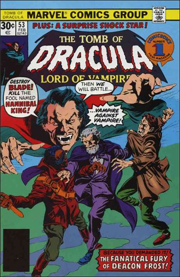 Tomb of Dracula (1972) 53-A by Marvel