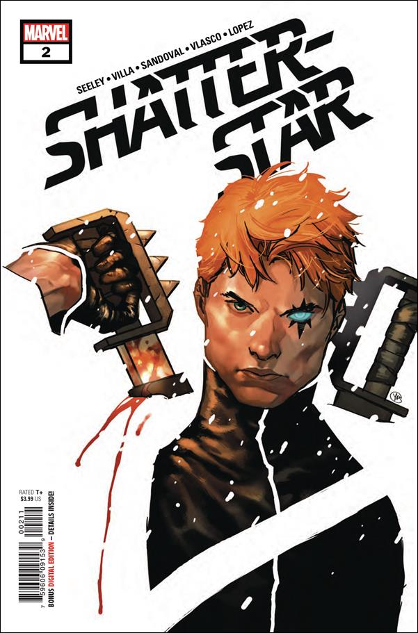 Shatterstar 2-A by Marvel