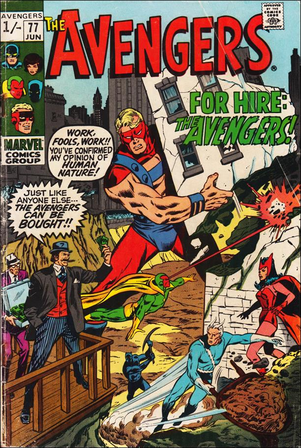 Avengers (1963) 77-B by Marvel