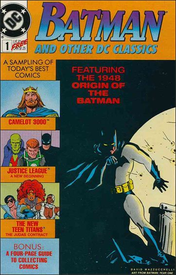 Batman and Other DC Classics 1-A by DC