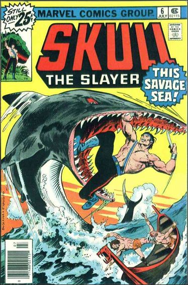 Skull the Slayer 6-A by Marvel