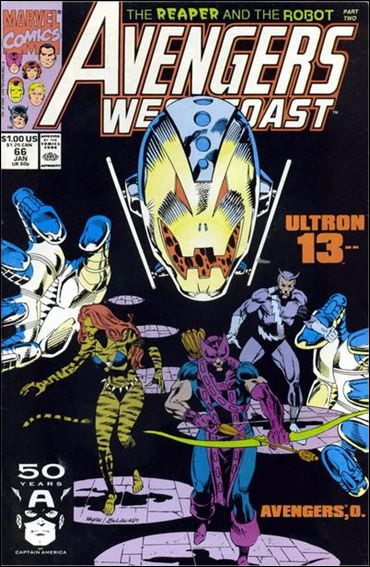 Avengers West Coast 66-A by Marvel