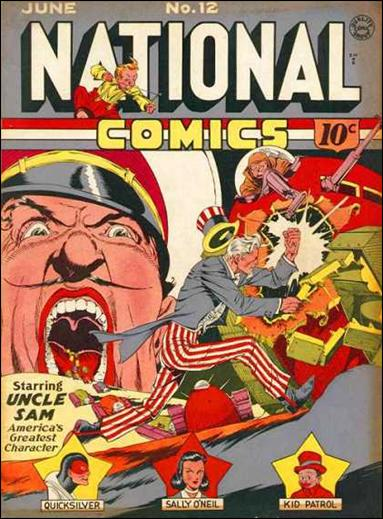 National Comics (1940) 12-A by Quality