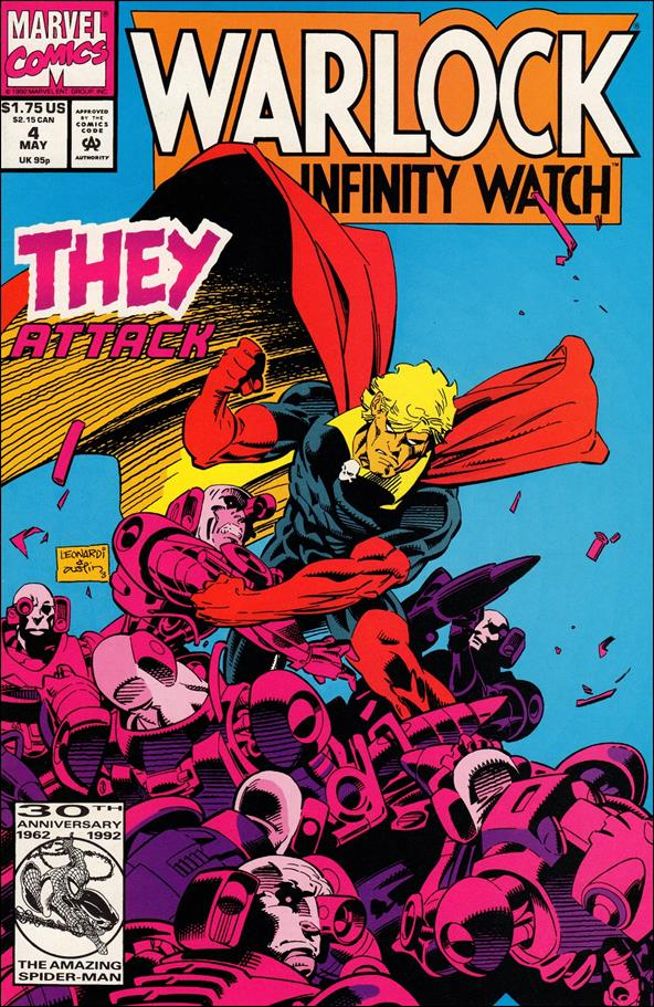 Warlock and the Infinity Watch 4-A by Marvel