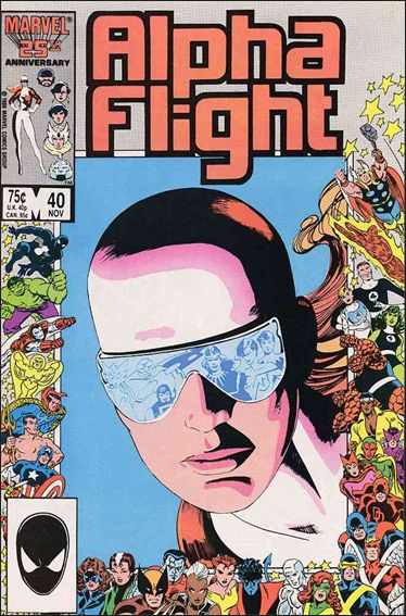 Alpha Flight (1983) 40-A by Marvel