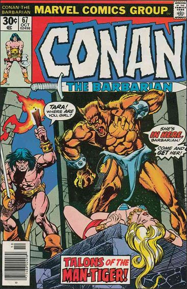 Conan the Barbarian (1970) 67-A by Marvel