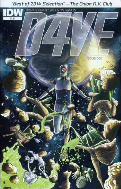 D4VE 5-A by IDW