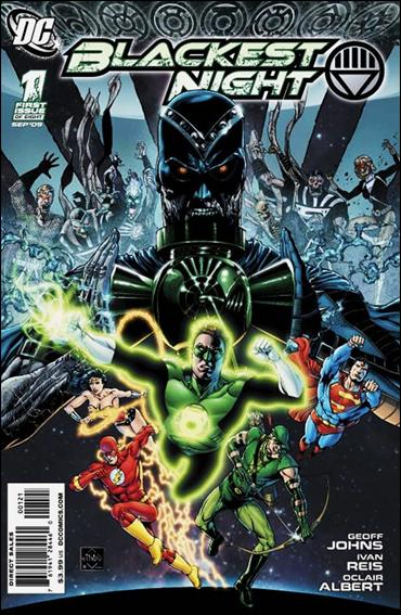 Blackest Night 1-B by DC