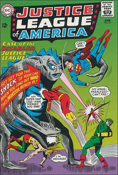 Justice League of America (1960) 36-A by DC