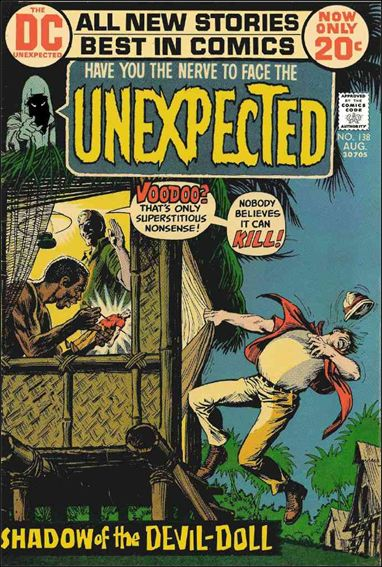 Unexpected (1968) 138-A by DC