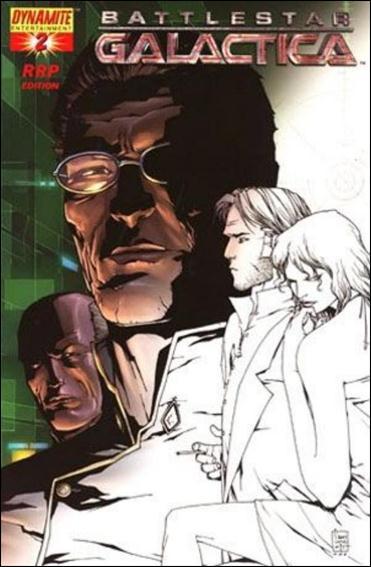 Battlestar Galactica (2006) 2-F by Dynamite Entertainment