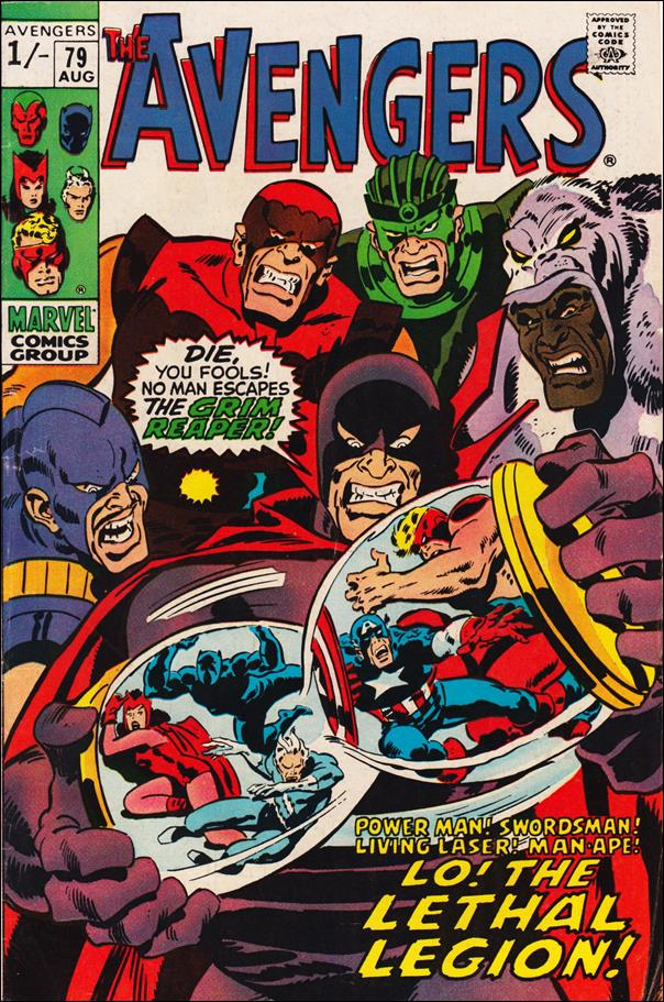 Avengers (1963) 79-B by Marvel