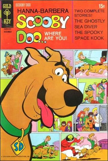 Scooby Doo, Where Are You? (1970) 4-A by Gold Key