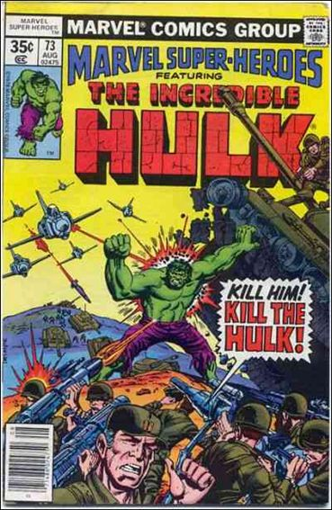 Marvel Super-Heroes (1967) 73-A by Marvel