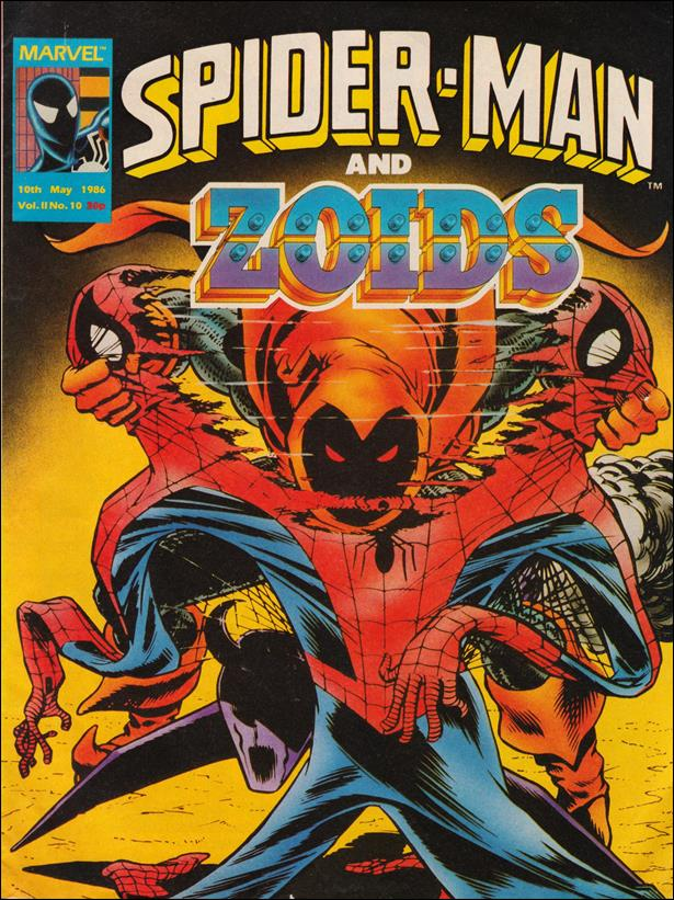 Spider-Man and Zoids (UK) 10-A by Marvel UK