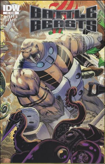 Battle Beasts (2012) 3-B by IDW
