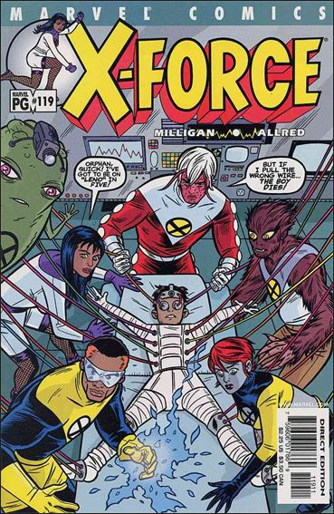 X-Force (1991) 119-A by Marvel