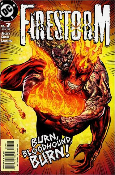 Firestorm (2004) 7-A by DC