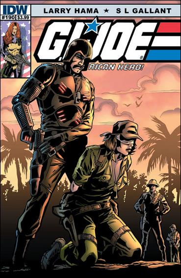 G.I. Joe: A Real American Hero 190-A by IDW