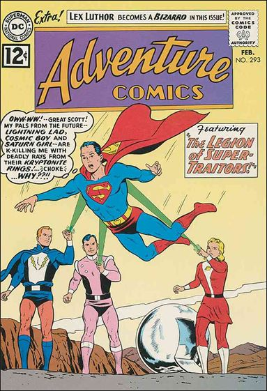 Adventure Comics (1938) 293-A by DC