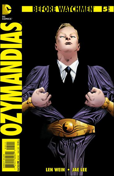 Before Watchmen: Ozymandias 5-A by DC