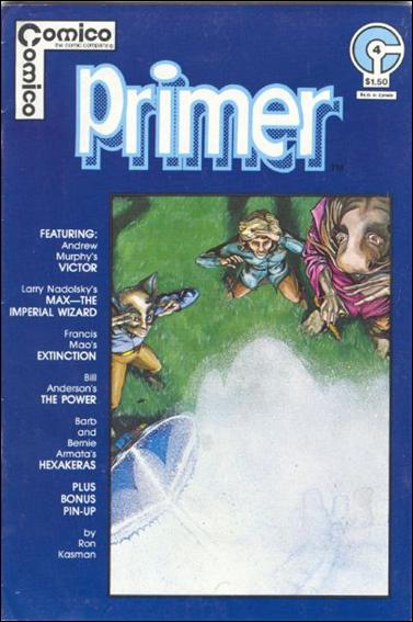 Primer (1982) 4-A by Comico