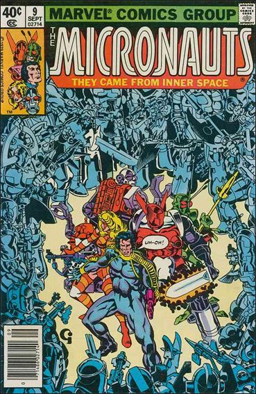 Micronauts (1979) 9-A by Marvel