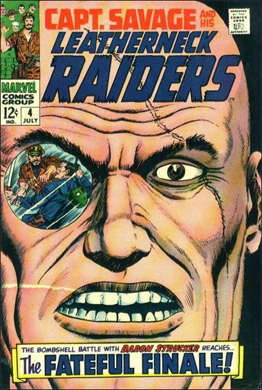 Capt. Savage and His Leatherneck Raiders 4-A by Marvel
