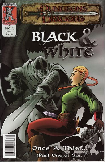 Dungeons and Dragons: Black & White 1-A by Kenzer and Company