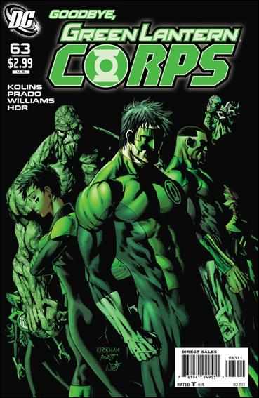 Green Lantern Corps (2006) 63-A by DC
