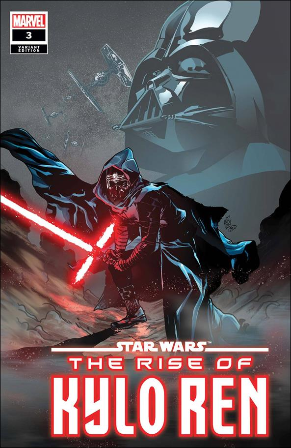 Star Wars: The Rise of Kylo Ren 3-B by Marvel