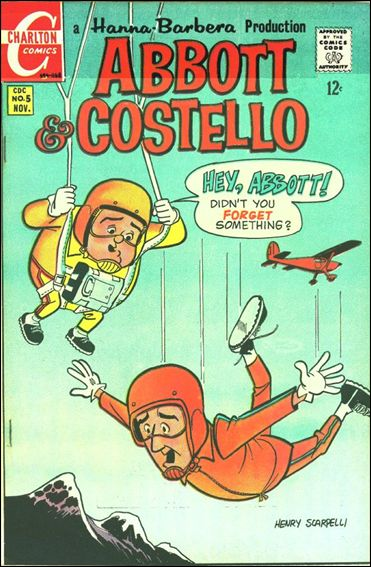 Abbott and Costello (1968) 5-A by Charlton