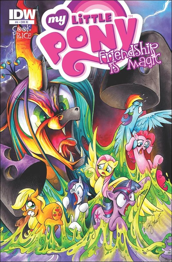 My Little Pony: Friendship is Magic 4-C by IDW