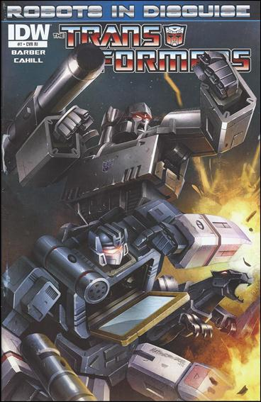 Transformers: Robots in Disguise 7-C by IDW