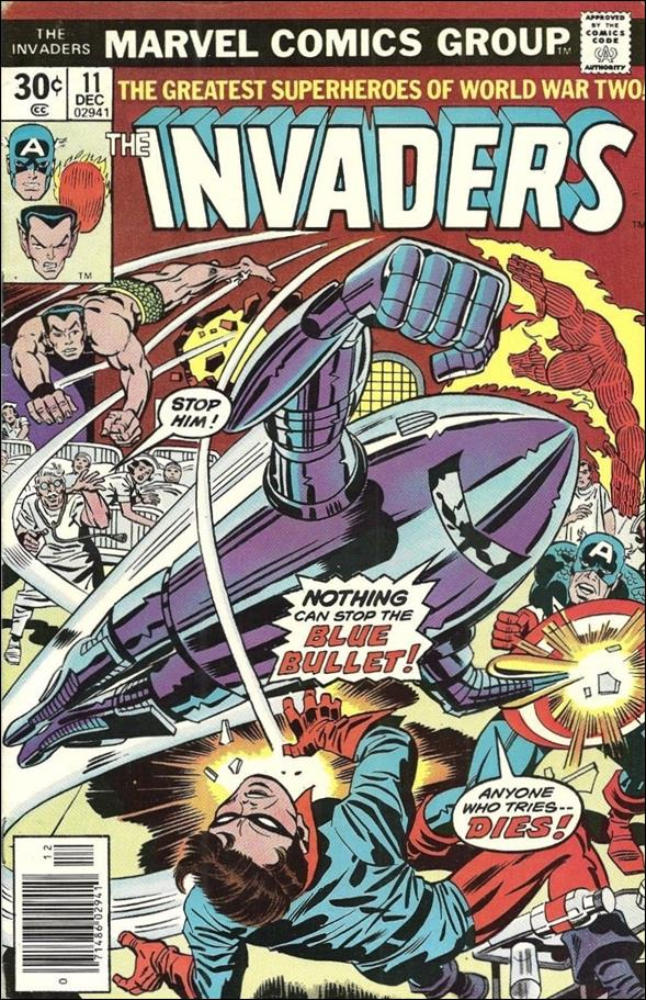 Invaders (1975) 11-A by Marvel