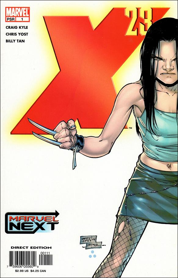 X-23 (2005) 1-A by Marvel